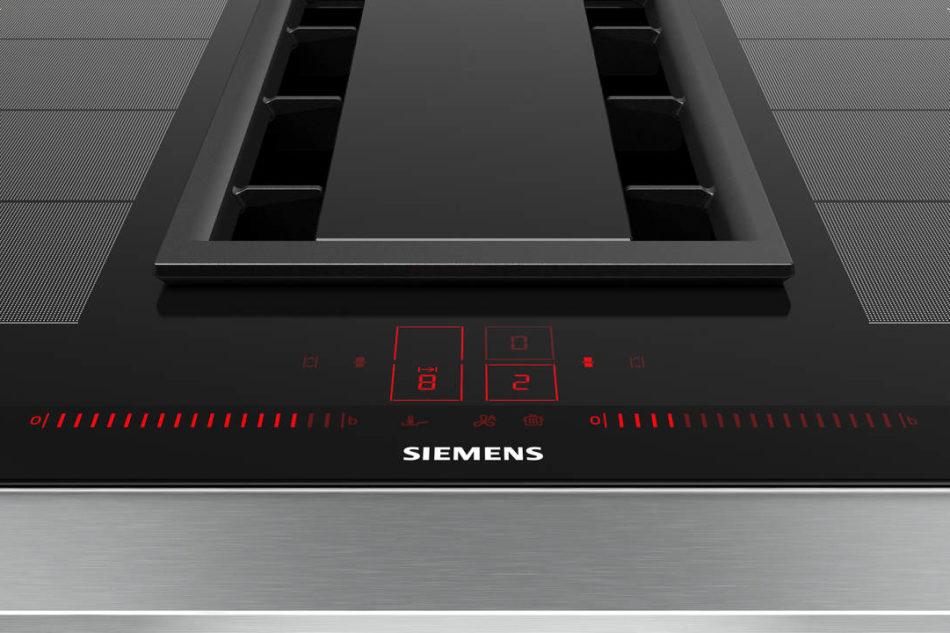 Siemens: il nuovo piano a induzione con cappa integrata. – Fabio Capogna